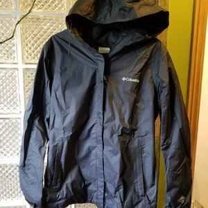 Columbia Jackets & Coats - Columbia Arcadia II waterproof rain jacket black L